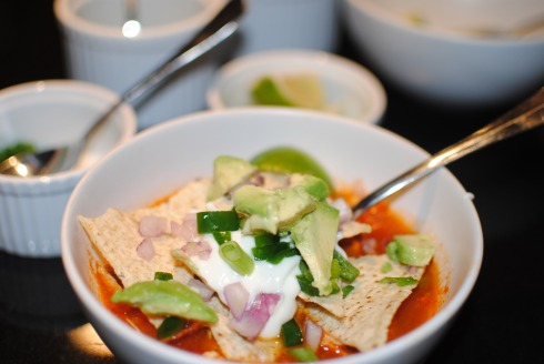 Low Sodium Chicken Tortilla Soup