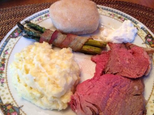 Christmas Dinner Plate