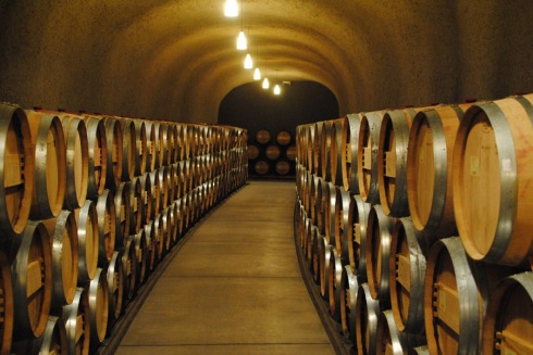 Quintessa Winery Caves