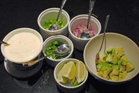 Low Sodium Chicken Tortilla Soup Toppings