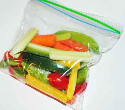 Healthy Veggie Snack Bag