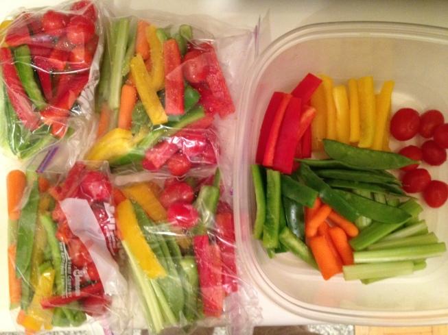 healthy veggie snack bags