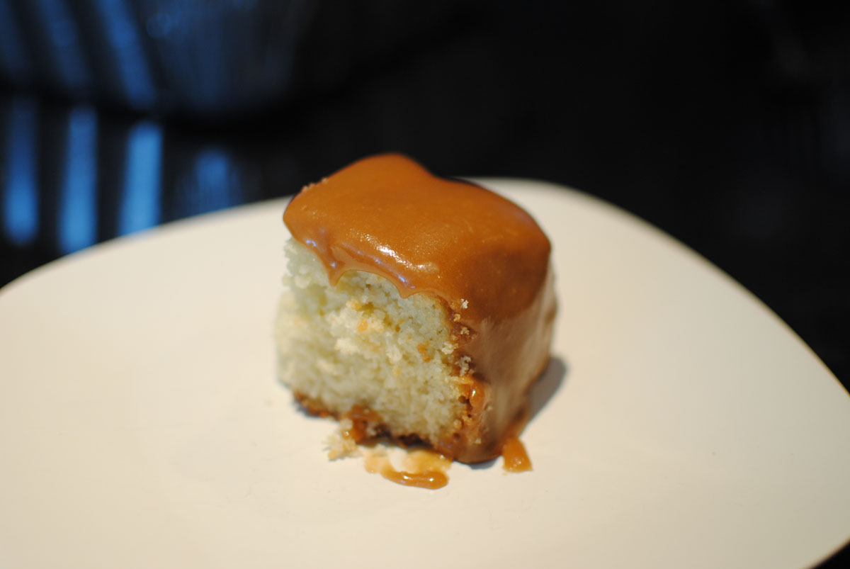 Caramel Cake on old fashioned caramel cake