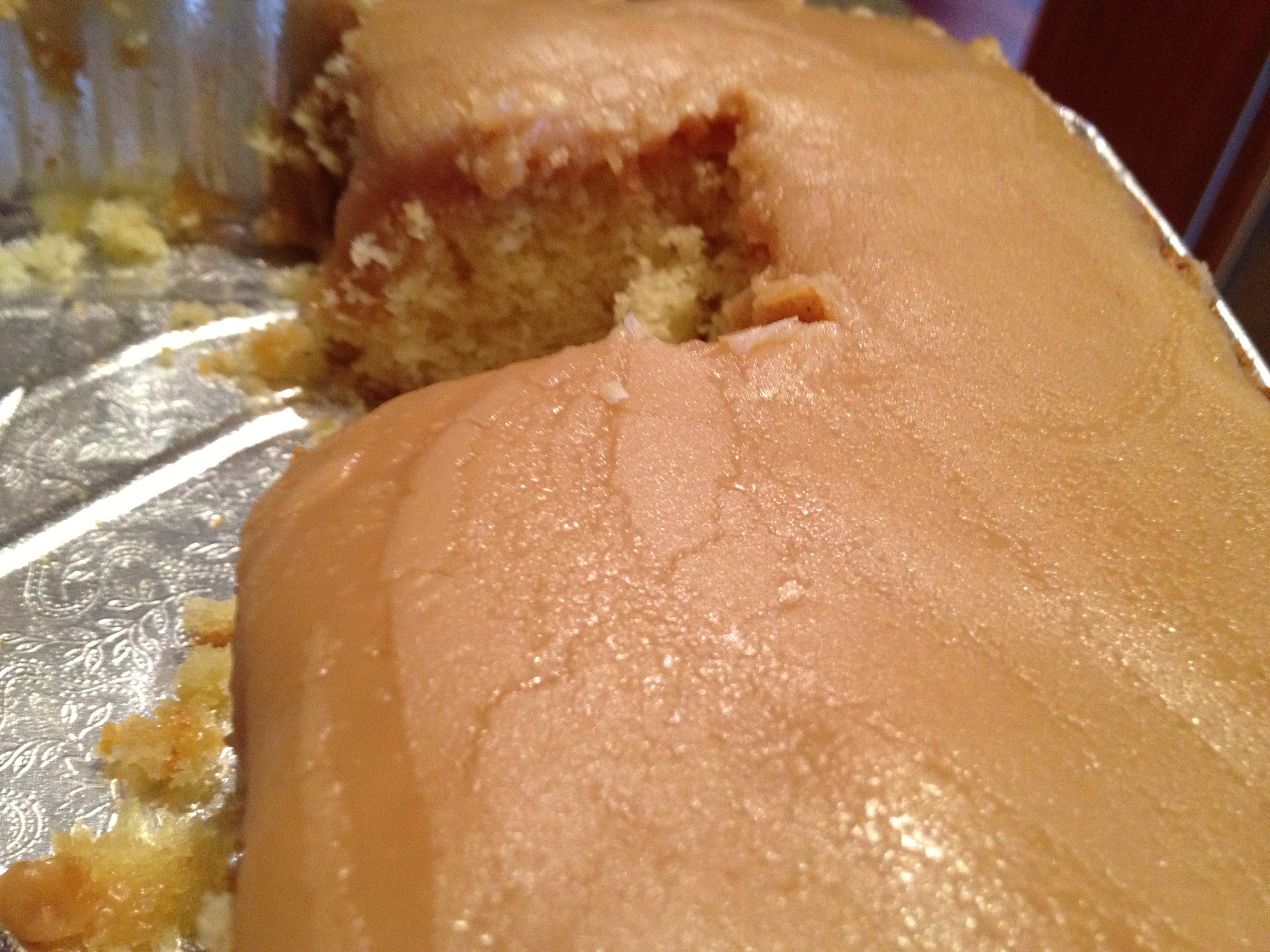 Permalink to Old Fashioned Caramel Icing